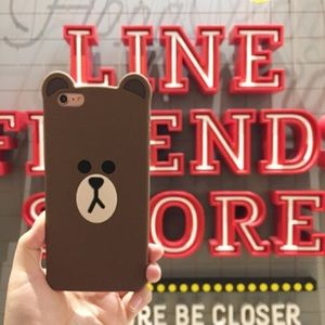 Line Friends Brown iPhone 7 Case